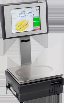 Bilancia Touch screen